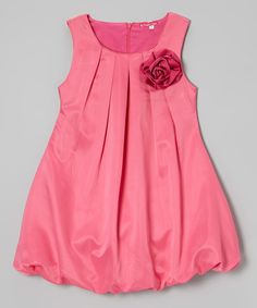 Rose Bubble Dress