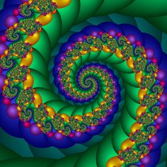 Awesome Fractals | Rolling in the deep | Fractal created in Ultra Fractal ...