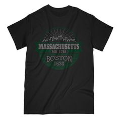 Massachusetts MA ... is available now in our store, go check it out! http://tshirtboost.com/products/massachusetts-ma-1788-boston-1630?utm_campaign=social_autopilot&utm_source=pin&utm_medium=pin