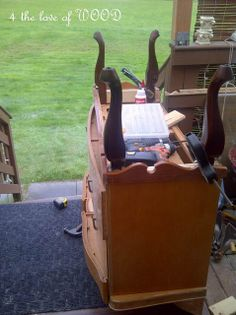 4 the love of wood: PART I A LEG UP - adding legs to furniture ~ good furniture blog