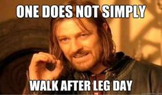 We schedule our week around Leg Day. | 21 Secrets Girls Who Lift Won't Tell You
