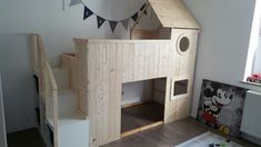 Image result for two ikea kura beds