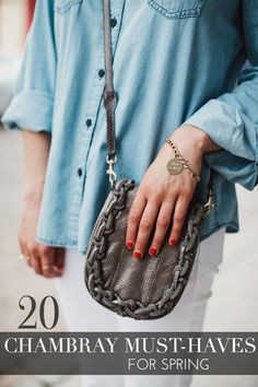 20 Chambray Must-Haves For Spring