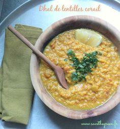 Dhal de lentilles corail (végétalien) #vegan #vegetarien #lentilles #corail #dhal #dal #dahl