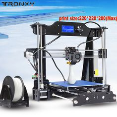New Arrival support Multi-language with Best heat removal system 3D Printer kit printer 3d printing Filament 8GB SD card As Gift