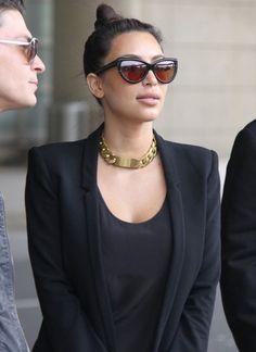 Kim Kardashian  #Celebrities #necklaces #Collares #celebridades #Jewelry #Accesories #Fashion #Trendy #Outfits