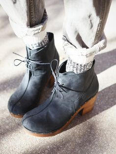 I need these in my life!! Free People Im With A Dreamer Clog Boot, £129.95