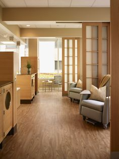 infusion bays design images | Indiana University, Cancer Infusion Center Treatment Environmental ...