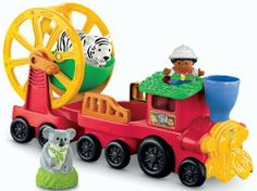 Fisher-Price Little People Zoo Talkers Animal Sounds Zoo Train by Fisher-Price, http://www.amazon.com/dp/B006O6FKG8/ref=cm_sw_r_pi_dp_oNsBqb19XJ6RR