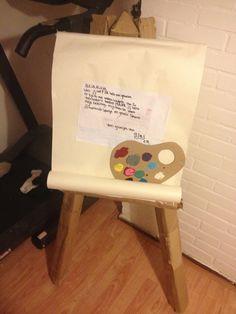 Sinterklaas surprise Kadotje voor èèn meisje wie knutselen en schilderen leuk vindt.