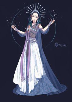 [the silmarillion-of Valar] Varda by navy-locked.deviantart.com on @deviantART