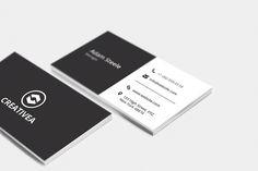 Minimal Business Card Template By Arslan On Creative Market Alex Backeris Design Layout