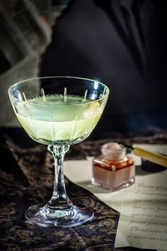 The Last Word: gin, lime, green Chartreuse, Luxardo Maraschino Cocktail Glass, Cocktail Drinks, Cocktail Recipes, Alcoholic Drinks, Gin Fizz, Gin Lemon, Getting Drunk, Classic Cocktails, Craft Cocktails