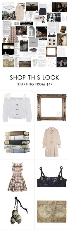 """an alchemy of the two"" by theambitiouscard ❤ liked on Polyvore featuring THE EDITOR, RED Valentino, GET LOST, See by Chloé, Vivienne Westwood Anglomania, GUSTA, STELLA McCARTNEY, Schone and WALL"