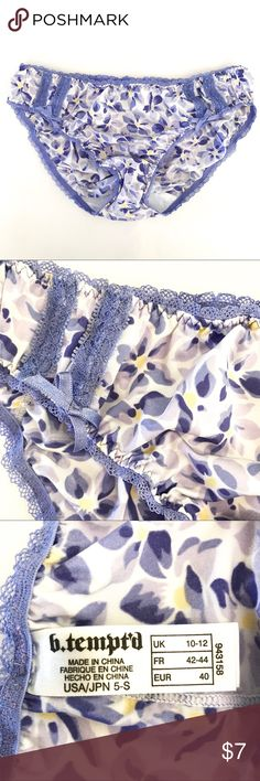 b.tempt'd by Wacoal panties b.tempt'd by Wacoal panties Wacoal Intimates & Sleepwear Panties