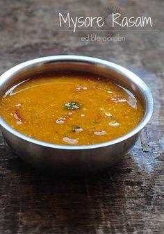 Mysore Rasam Recipe - South Indian Recipe for Rasam with Coconut