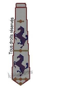 галстуки (мозаика) | biser.info - всё о бисере и бисерном творчестве