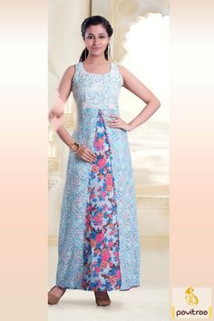 Ice blue georgette embroidery kurtis for fashionable girls in India. This charm looking kurti is ready to spark you party. Purchase this embroidery stylish kurti online. http://www.pavitraa.in/store/kurtis/?utm_source=pk&utm_medium=pinterestpost&utm_campaign=25Dec #kurtis, #stylishkurtis, #partykurtis, #designerkurtis, #fancykurtis, #embroiderykurtis, #2015kurtis, #newkurtis, #shortkurtis, #longkurtis, #onlinekurtis, #cotttonkurtis, #wholesalekurtis, #offer, #Festival