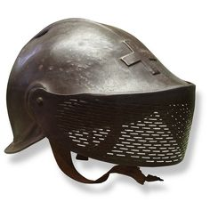 The L'Eplattenier helmet was a prototype military helmet designed for the Swiss Army by Charles L'Eplattenier in 1916. Deemed too expensive to produce en masse, it was shunned in favour of a simpler design. L'Eplattenier helmet, on display at Morges military museum.