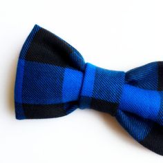 Blue Buffalo Plaid Bow tie Plaid Bow tie by FlyTiesforFlyGuys Blue Bow Tie, Bow Ties, Buffalo Plaid, Blue Plaid, Bows, My Style, Casual, Color, Blue Lace