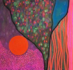 "Saatchi Art Artist: Virginie Gallois; Acrylic 2014 Painting ""Variation I"""