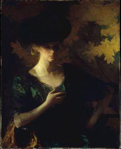 Portrait of a Lady ~ Frank Weston Benson (1862-1951)