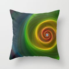 Buy Space dream spiral Throw Pillow by davidzydd. Worldwide shipping available at Society6.com. Just one of millions of high quality products available.