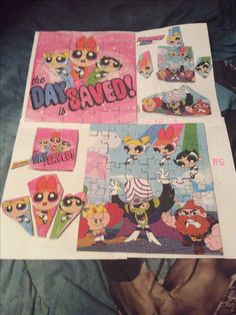 Powerpuff Girls 2016 puzzle by Kaylee Alexis
