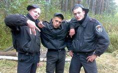 *-* O Rusku kolujú na internete mnohé vtipné fotografie. Tieto z ruského policajného zboru medzi ne určite patria tiež.