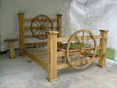 bing images of recycled chairs and tables | Google Image Result for http://www.rustic-r-us.com/Wagon_Wheel_Bed_001 ...