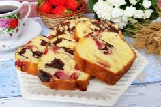 Loaf Cake, Healthy Recipes, Healthy Food, French Toast, Deserts, Muffin, Sweets, Breakfast, Healthy Foods