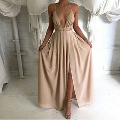 Creme Catalina Maxi Dress – Dream Closet Couture