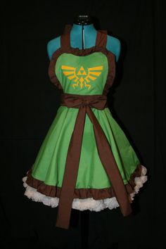Legend of Zelda Apron on Fanboy Fashion.