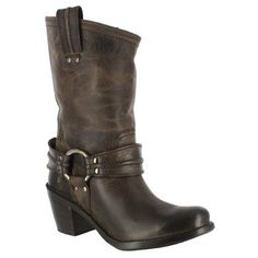 Western/Motocycle Mix Boot