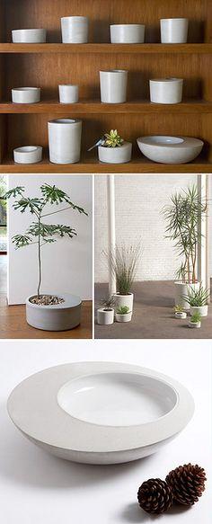 Concrete planters. Visit NuConcrete.com for all Concrete_Design & Installation.