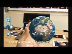 """Demostración Software Educativo con Realidad Aumentada """"Real Space"""" - YouTube"""