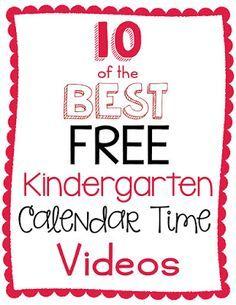 Top Ten Fun Calendar Time Videos