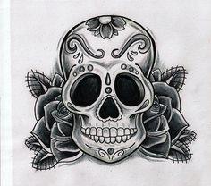 28 Best Sugar Skull Simple Tattoo Images In 2017 Sugar Skull