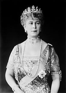 The second most recent Princess of Wales, later Queen Mary, the last actual princess by birth to be Princess of Wales.