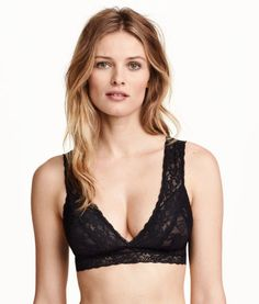 Lace Soft-cup Bra | Product Detail | H&M