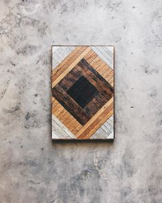 """Laurie Hunt - Table Top - 22""""x33"""" Made from reclaimed house wood from Nashville, TN"""