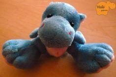 No. 802   víziló   plüss   hippo   plush