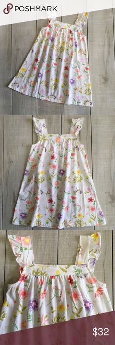 🌷NEW LISTING - Angel Dear Floral Sundress Size 3T. Angel Dear Sundress. 100% cotton. New with tag.  🎀Posh Ambassador 📫Fast Shipping 🚭Smoke free home/Fragrance free laundry products 🤑Offers welcome/Bundle offer discounts Angel Dear Dresses Casual
