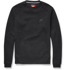 Nike Tech-Fleece Cotton-Jersey Sweatshirt | MR PORTER