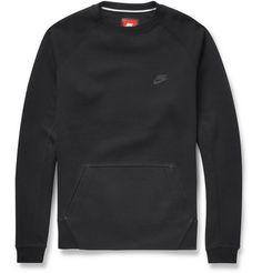 Nike Tech-Fleece Cotton-Jersey Sweatshirt   MR PORTER
