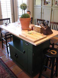 Diy Kitchen Island Kitchen Cart Painted Stool