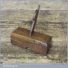 planerouter for wood at DuckDuckGo Hand Router, Router Plane, Woodworking Planes, Old Tools, Wooden Hand, Rare Antique, Miniatures, Hardware, Antiques