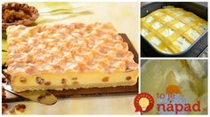 To je nápad! Czech Recipes, Desert Recipes, Delicious Desserts, Waffles, Deserts, Food And Drink, Pie, Sweets, Bread