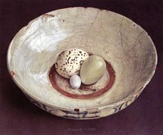 Herenius - Chris Herenius ''Tranquil , timeless and above tar is the atmosphere of the sublime still lifes Herenius Chris radiat. Speckled Eggs, Watercolor Feather, Fruit Painting, Still Life Art, Tea Bowls, Art Of Living, Art World, Painting Inspiration, Food Art