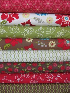 Heather Mulder Peterson, Summer House, Evening Stroll in FAT QUARTERS, 8 Total